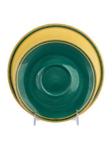 Hermès Toucans Plates None