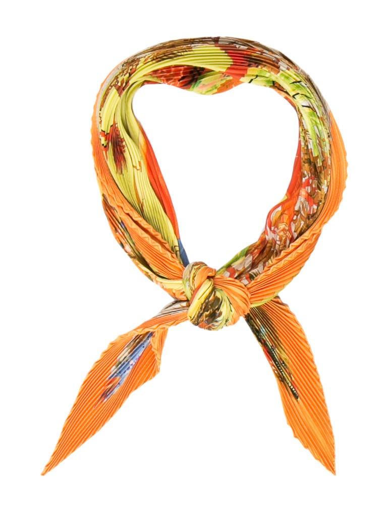 herm 232 s kuggor tree silk pliss 233 scarf accessories