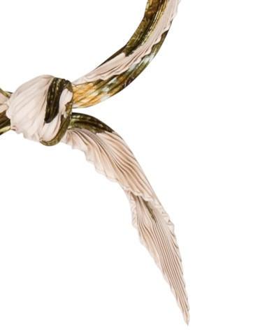 Citrouilles & Coloquintes Silk Plissé Scarf