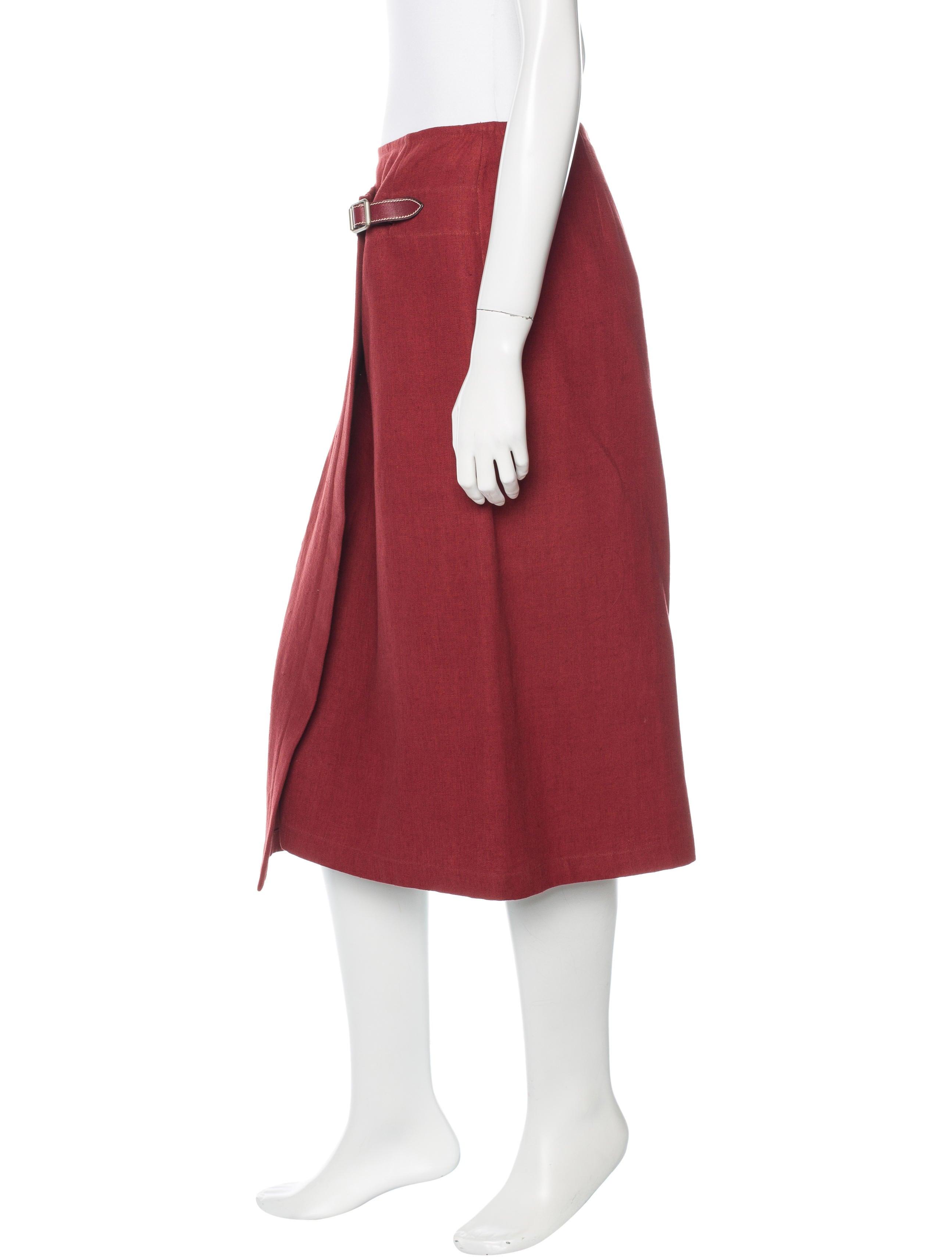 herm 232 s linen knee length skirt clothing her75237 the