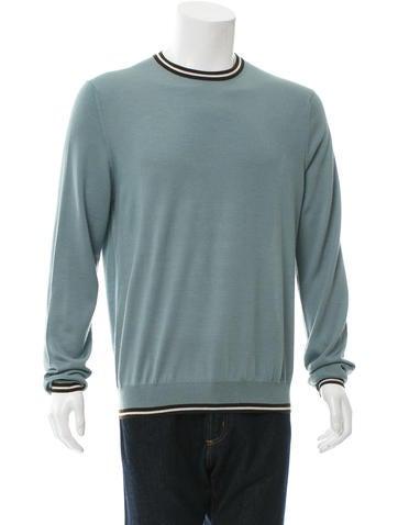 Hermès Cashmere & Silk-Blend Sweater None