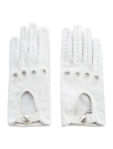 Perforated Lambskin Gloves