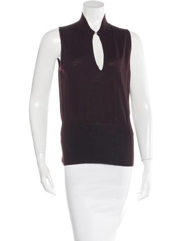 Hermès Wool Sleeveless Top None