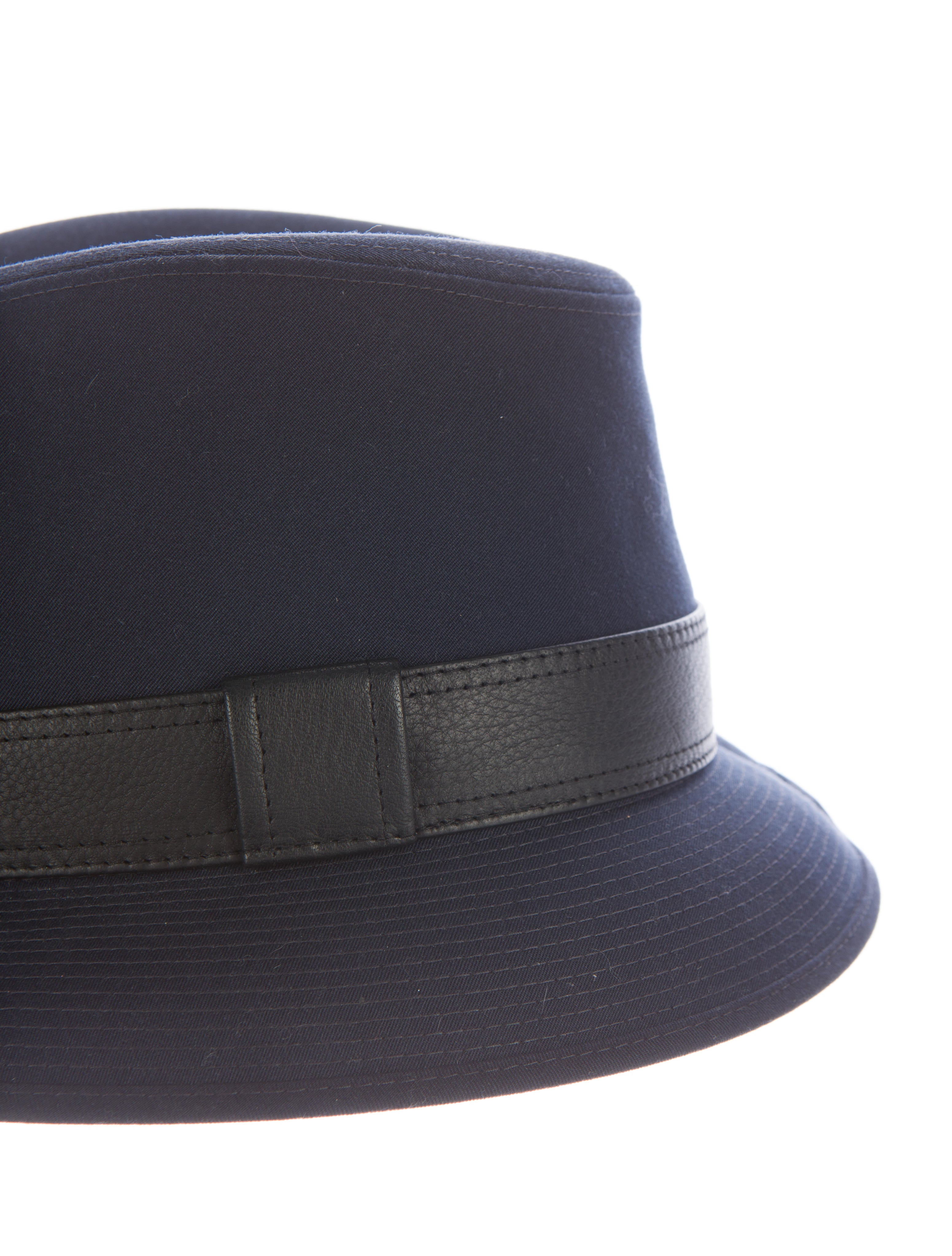 herm 232 s canvas fedora hat accessories her78472 the