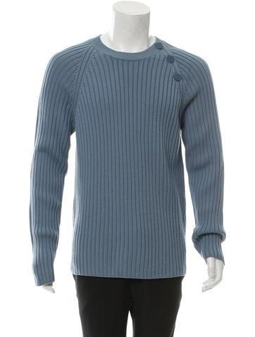 Hermès Wool Rib Knit Sweater None