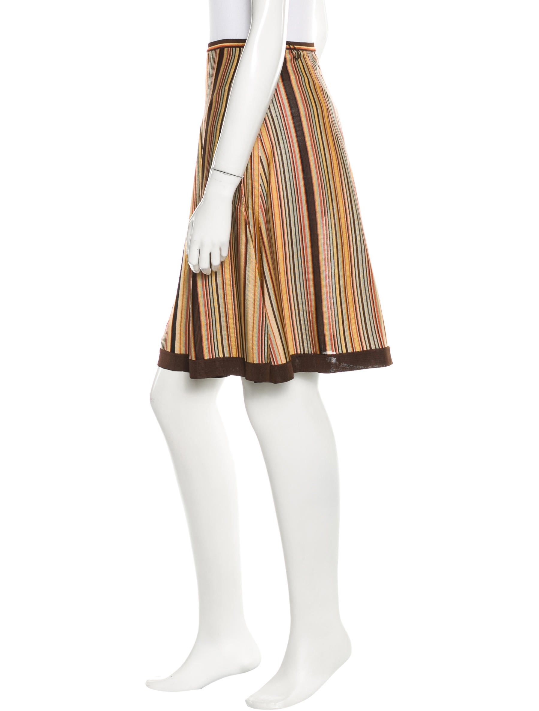 herm 232 s striped a line skirt clothing her78742 the