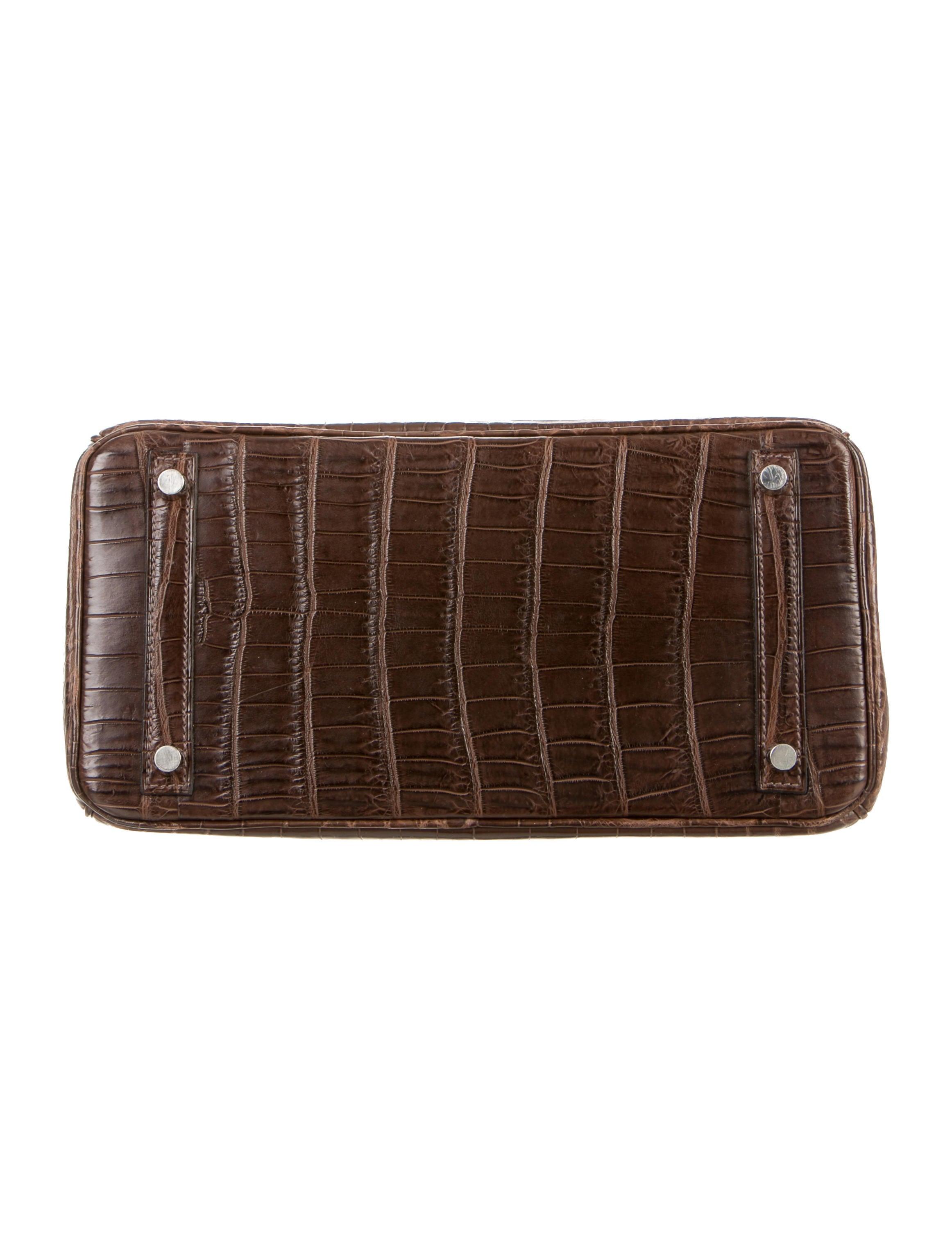 Hermès Niloticus Crocodile Birkin 30 - Handbags - HER78784  b904a539e0