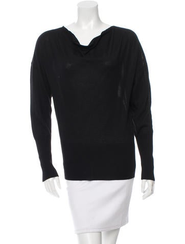 Hermès Cashmere Cowl Neck Sweater None