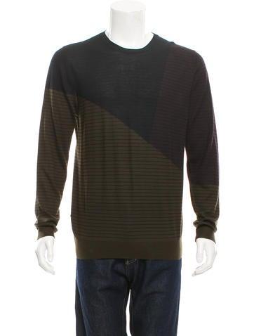 Hermès Striped Cashmere Sweater None