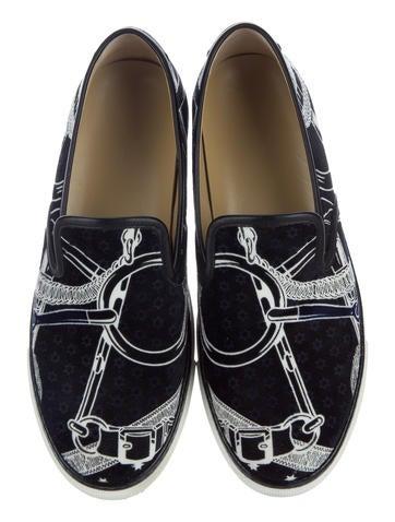 Velvet Kick Sneakers