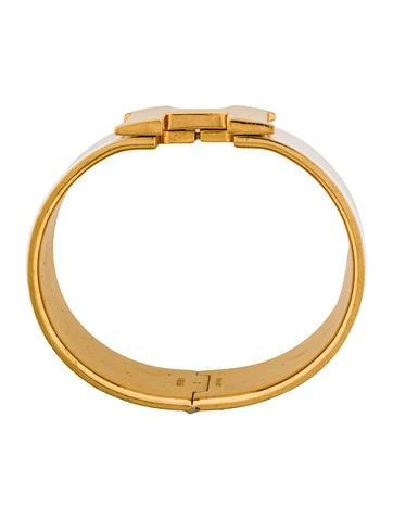 herm s extra wide clic clac h bracelet bracelets her80134 the realreal. Black Bedroom Furniture Sets. Home Design Ideas
