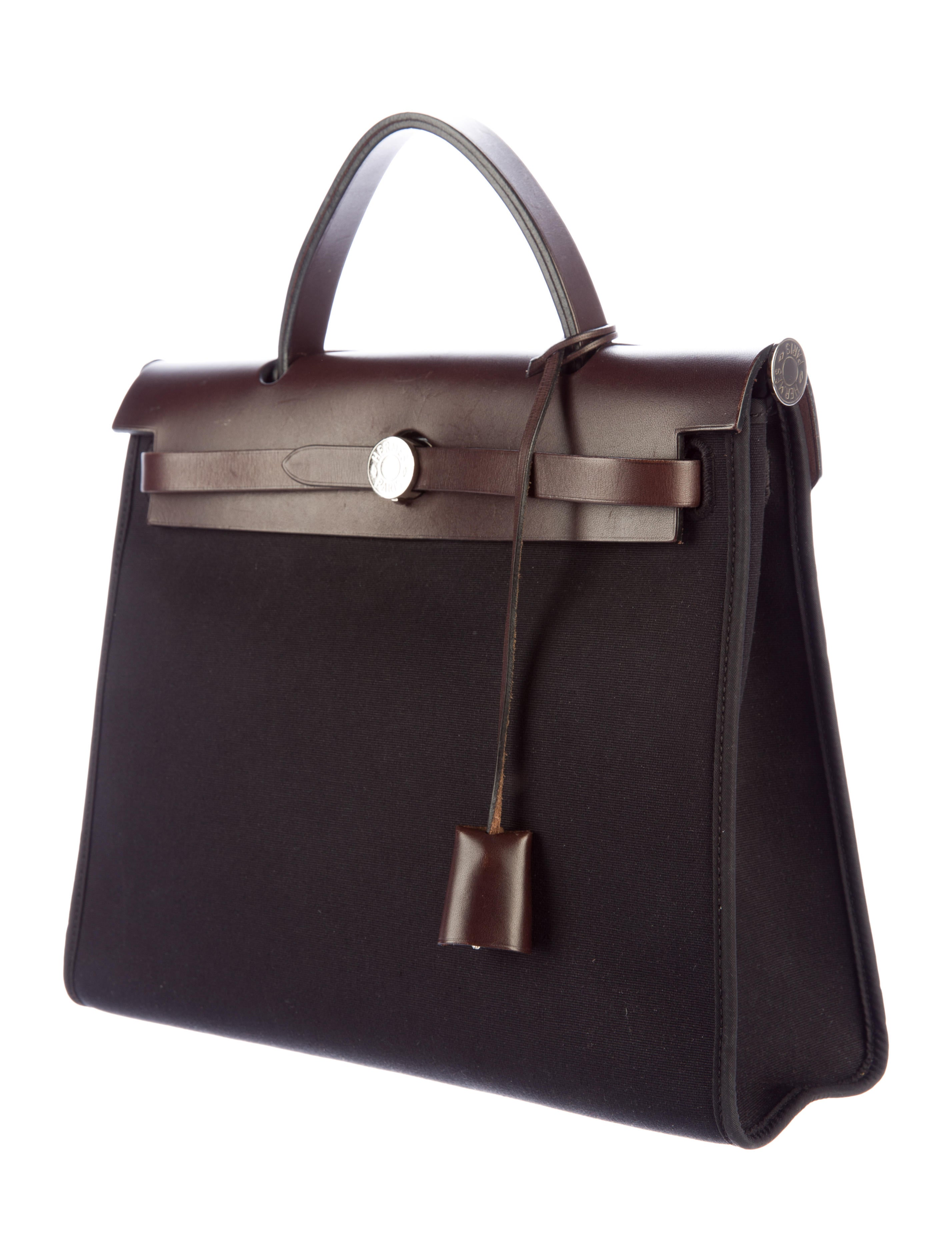 5ea13116fb03 ... sale hermès herbag zip 31 handbags her80410 the realreal c39cf d575b