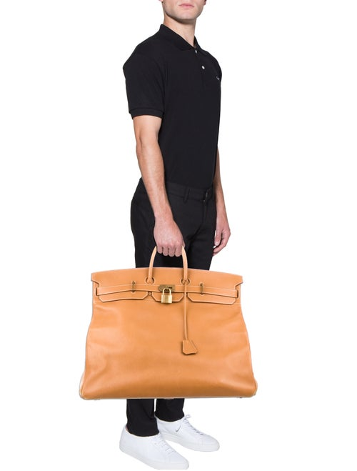 231b4f77ce94 ... Hermès HAC Birkin 55 - Bags - HER80769 The RealReal look for 33cff  d0f70 ...