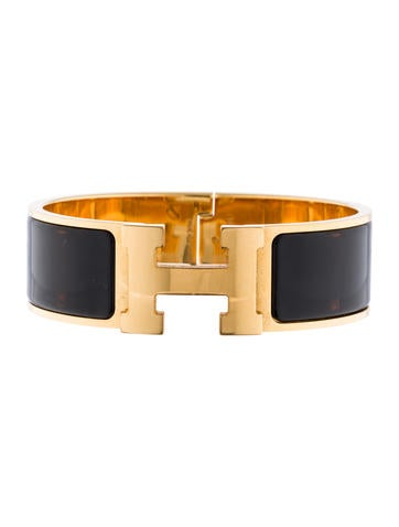 herm s clic clac h bracelet bracelets her81361 the realreal. Black Bedroom Furniture Sets. Home Design Ideas