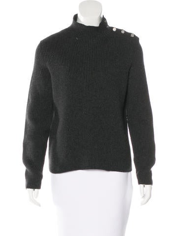 Hermès Rib Knit Cashmere Sweater None