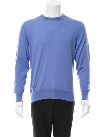 Hermès Cashmere & Silk-Blend Sweater None