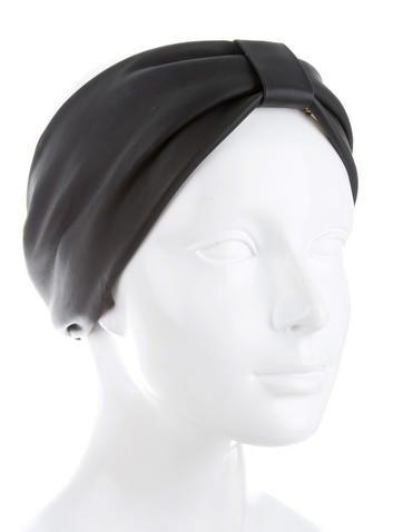 Leather Ski Headband