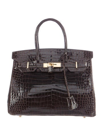 Crocodile Birkin bag 30