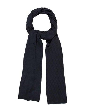 Hermès Cashmere Silk Knit H Scarf None