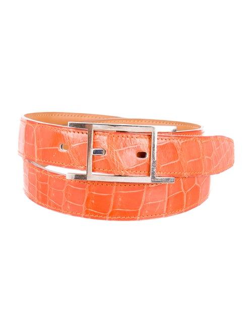 Hermès Quentin Crocodile Belt