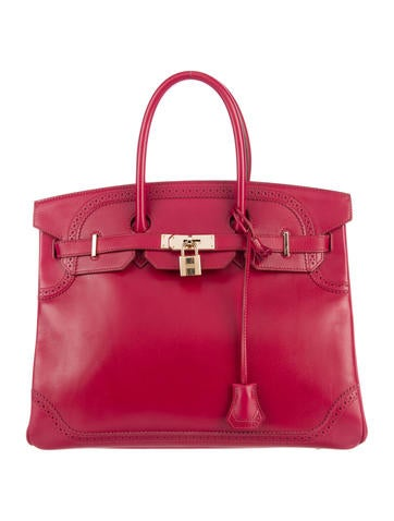 Birkin bag 35 red