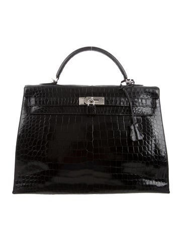 Hermès Crocodile Kelly Sellier 40