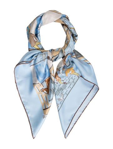 Les Boxes Silk Scarf