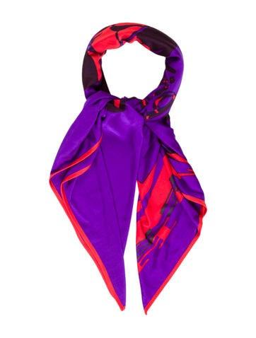 Calèche Élastique Silk Jersey Scarf