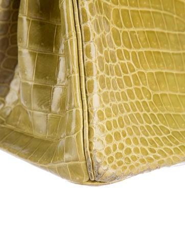 Shiny Porosus Birkin 30