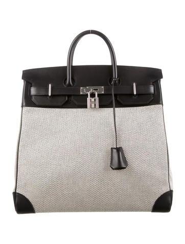 Hermès 2016 Toile HAC Birkin 40