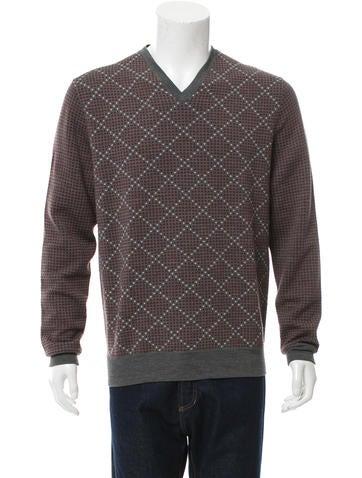 Hermès Patterned Wool Sweater None