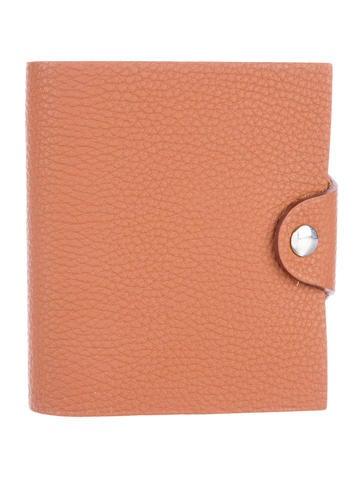 Hermès Ulysse Mini Agenda Cover w/ Notebook