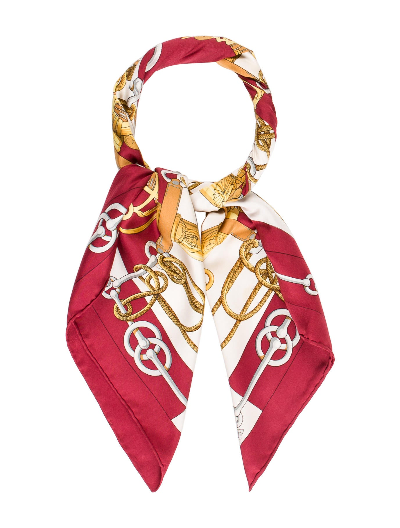 herm 232 s cliquetis scarf accessories her89590 the realreal