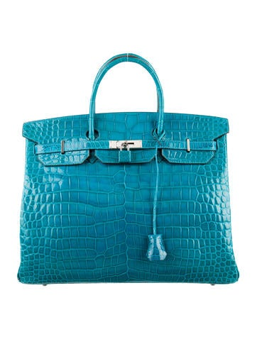 Crocodile Birkin 40