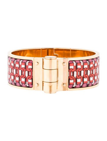 Hermès Wide Hinged Bracelet