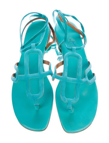 Suede Leather Infini Sandals