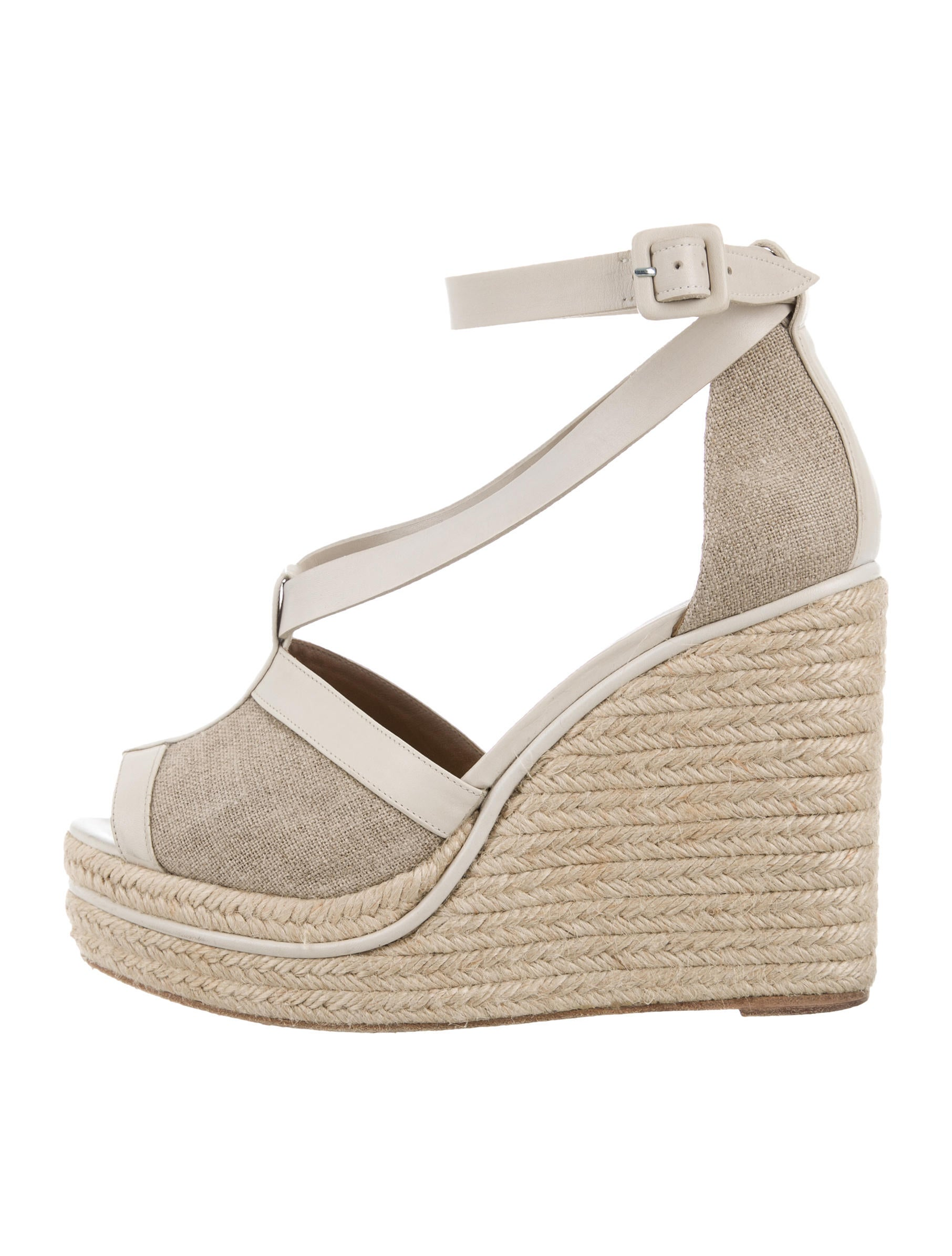 herm 232 s canvas espadrille wedges shoes her90129 the