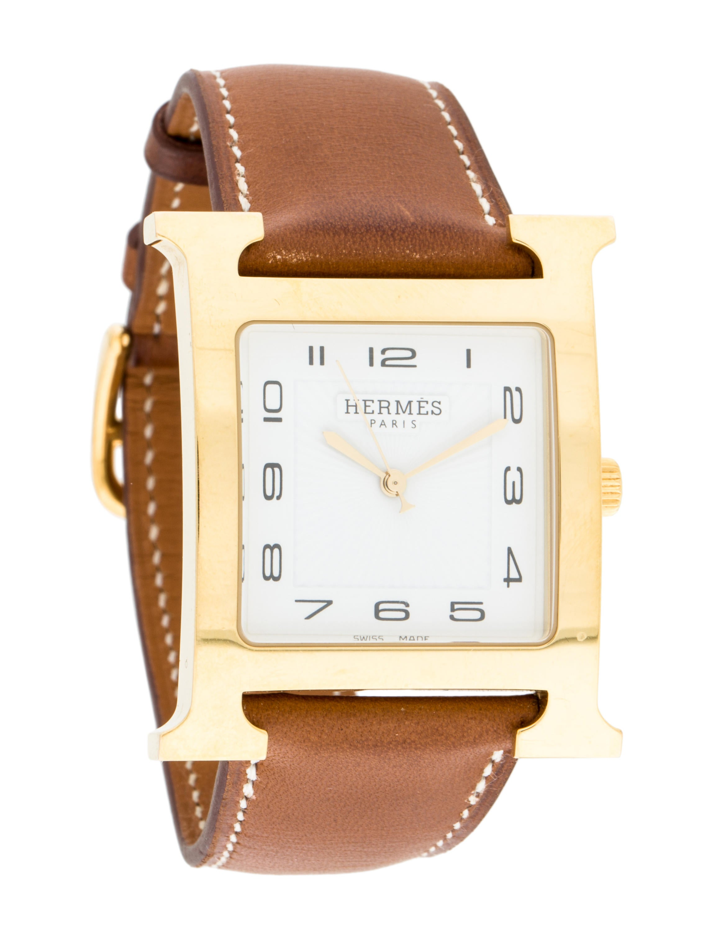 hermes arceau smooth gold by watch time suspendu products temps desires rose red watches strap diamond suspended le agate