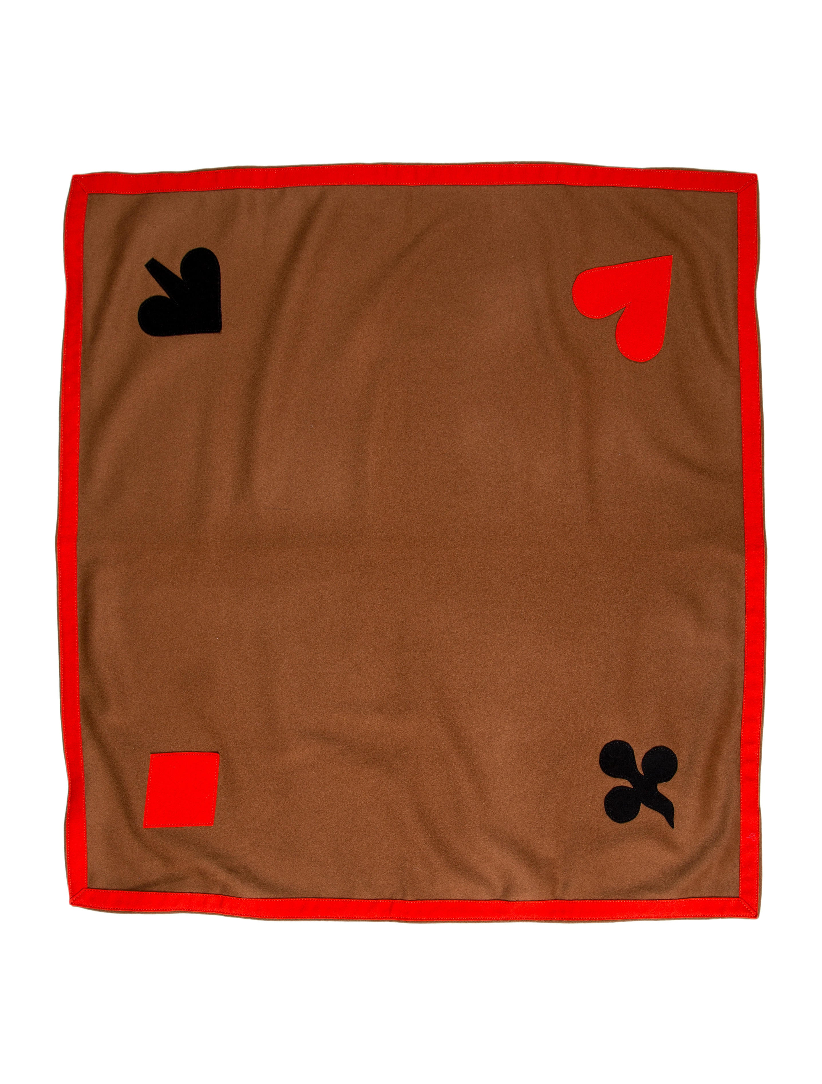 Felt Playing Card Table Cover
