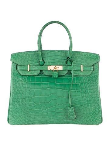 Product Name:Hermès Matte Alligator Birkin 35