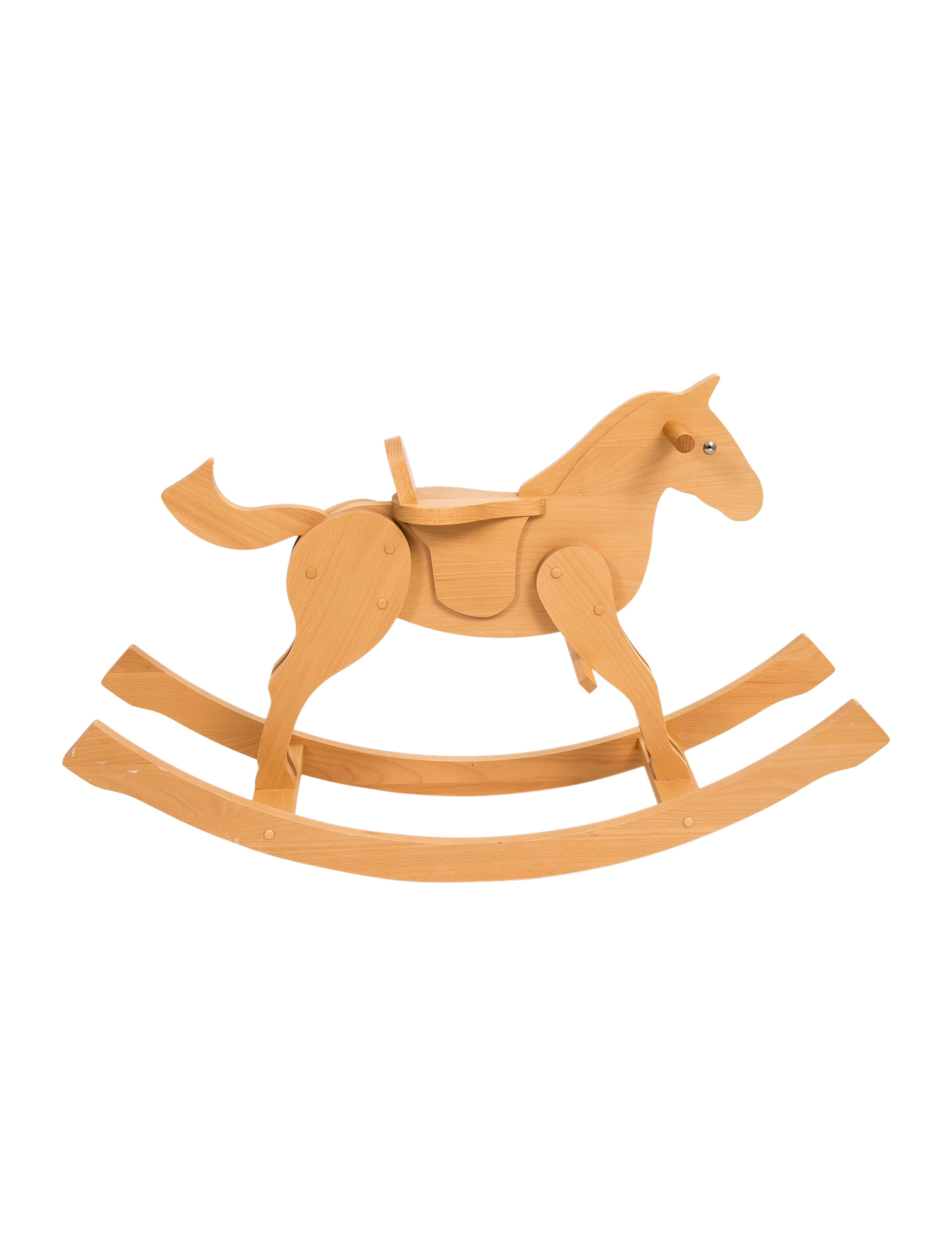 Hermès Beechwood Rocking Horse - Kids Furniture & Accessories