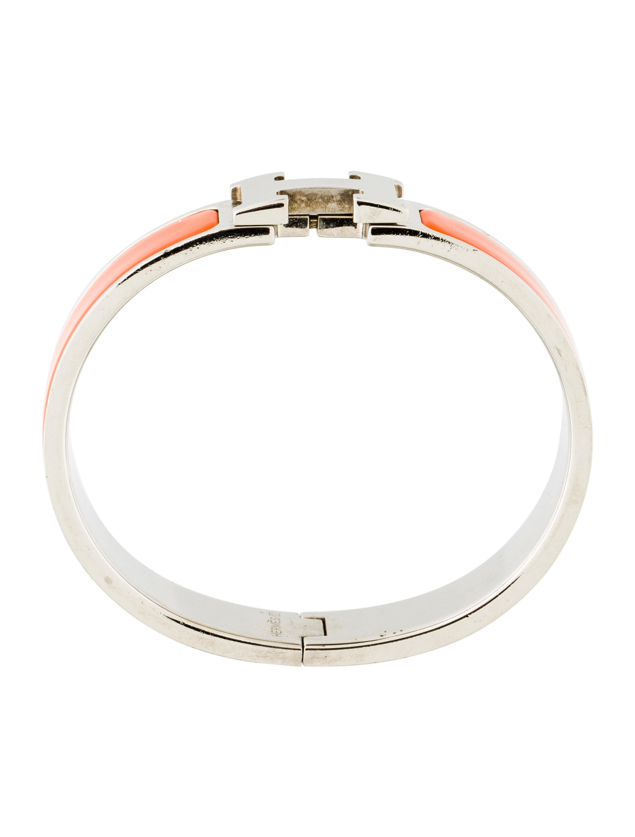 herm 232 s clic clac h bangle bracelet bracelets her93572 the realreal