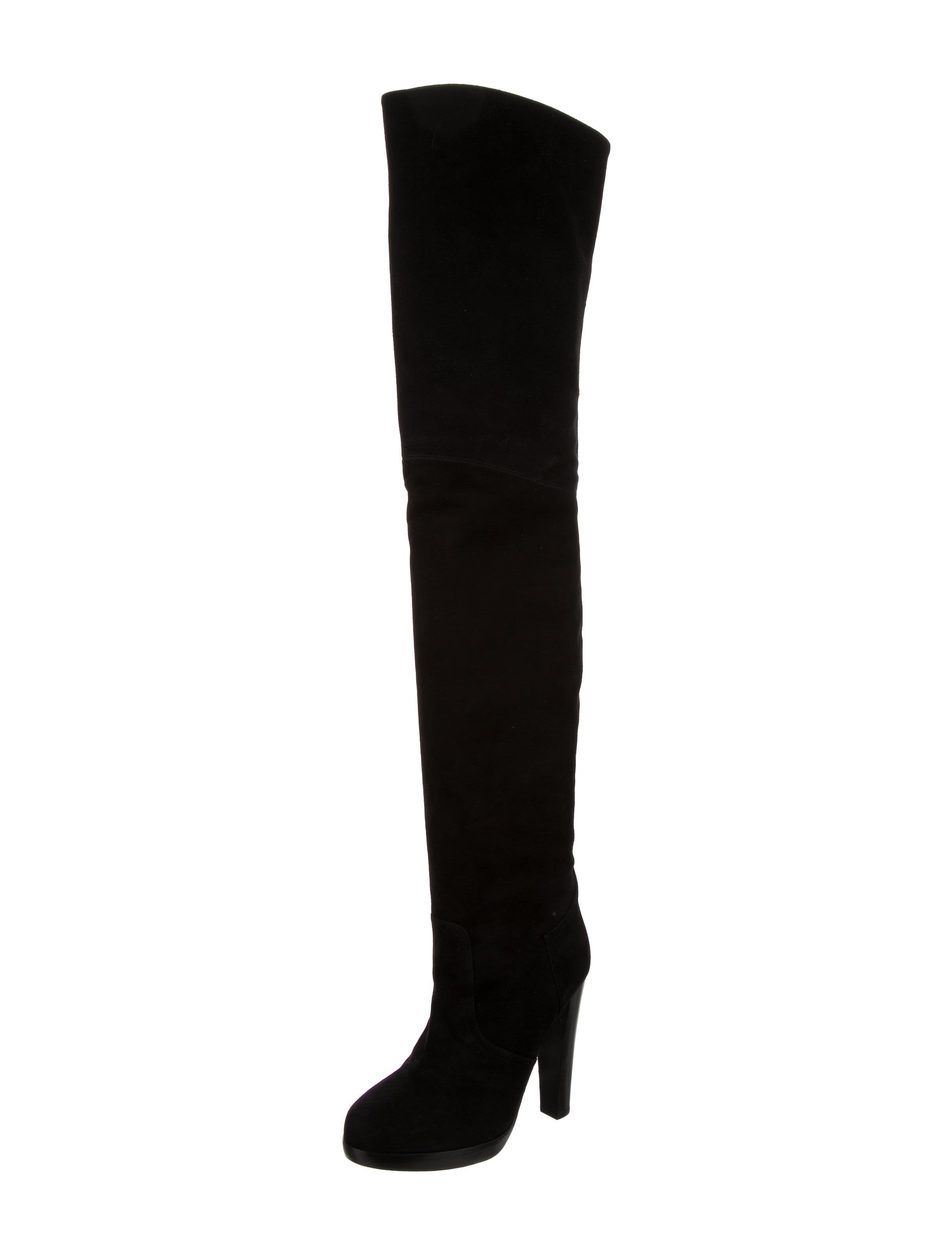 Hermès Knee-High Leather Boots
