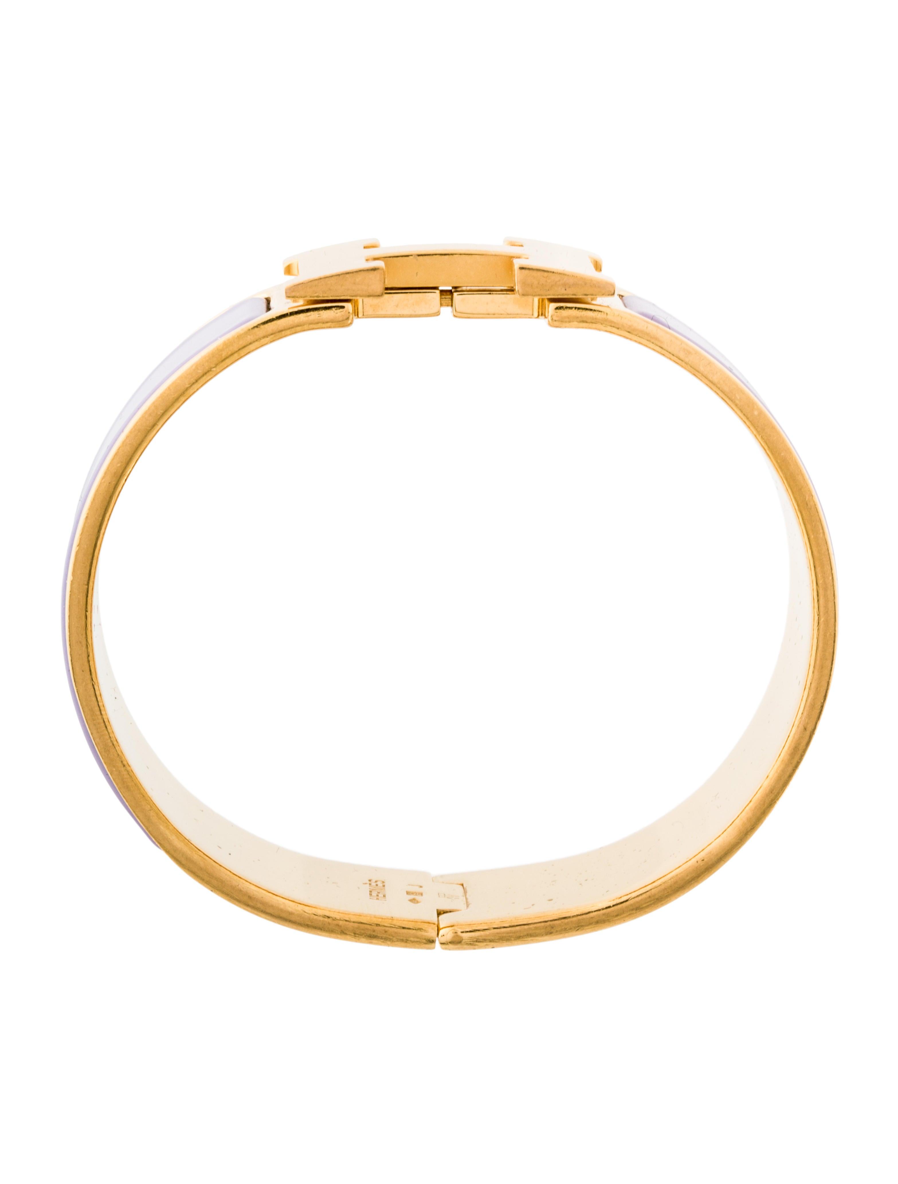 herm s wide clic clac h bangle bracelets her93724. Black Bedroom Furniture Sets. Home Design Ideas