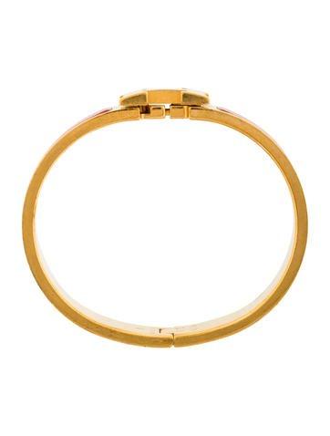 herm s narrow clic clac h bracelet bracelets her94103 the realreal. Black Bedroom Furniture Sets. Home Design Ideas