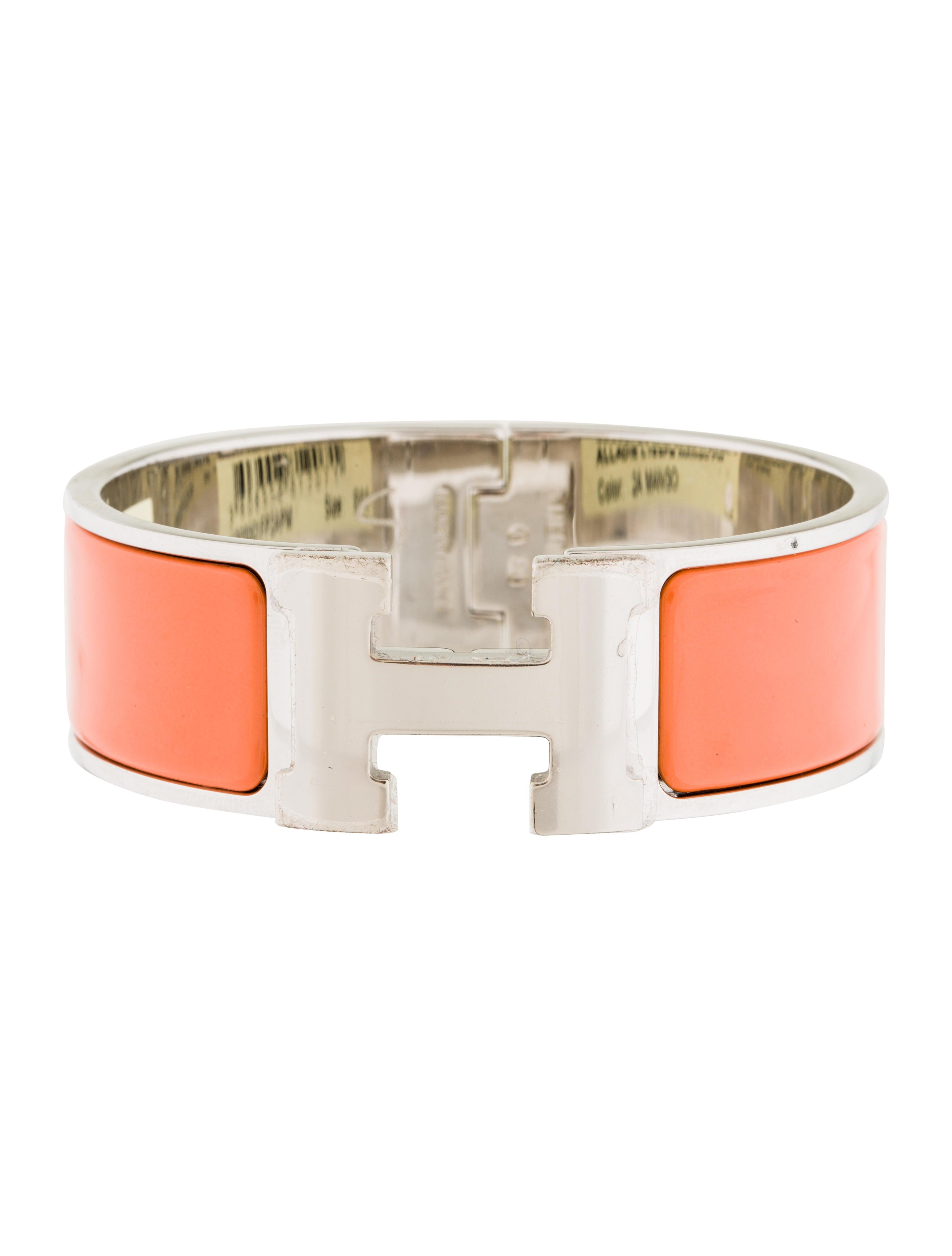 herm s wide clic clac h bracelet bracelets her94445. Black Bedroom Furniture Sets. Home Design Ideas