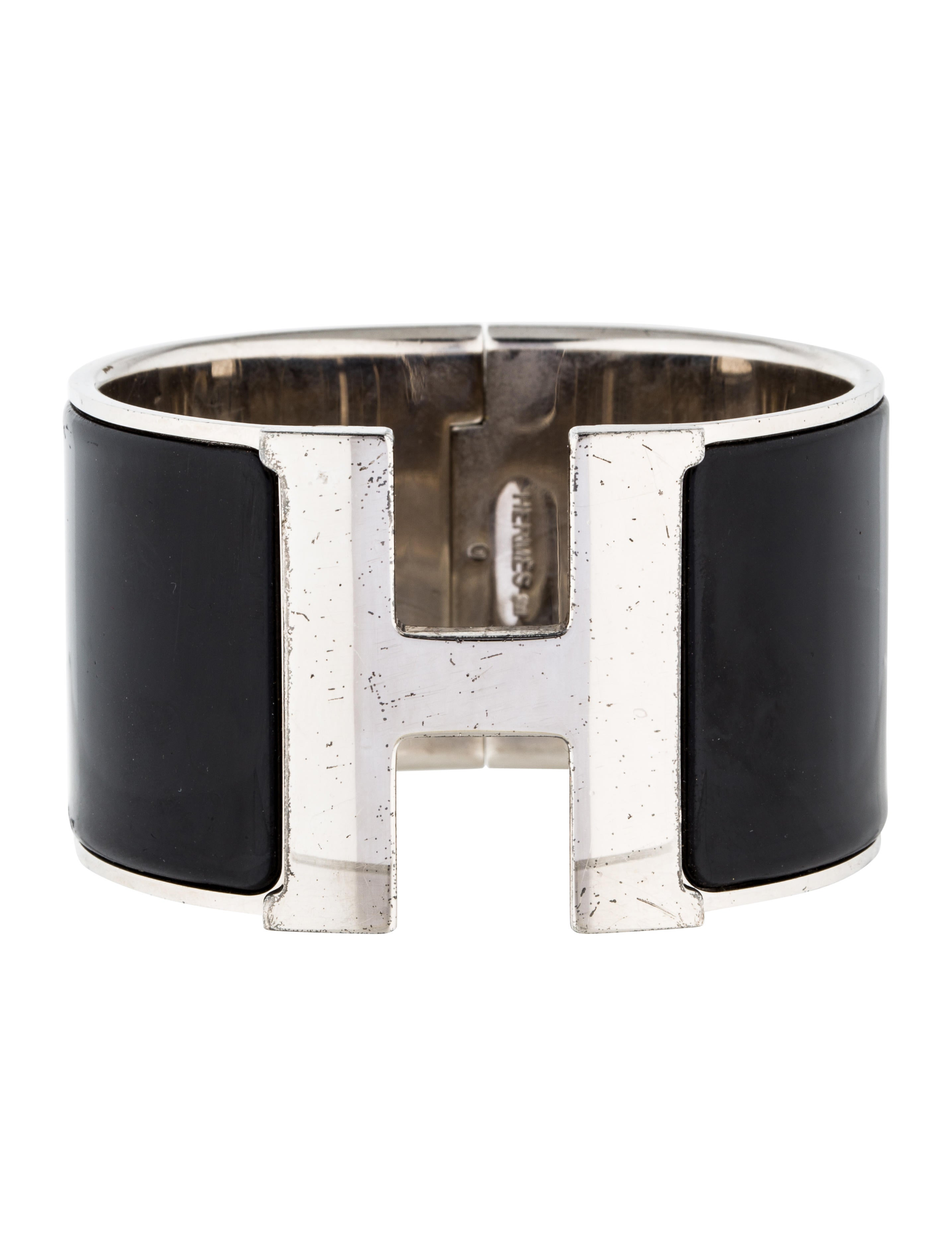herm s extra wide clic clac h bracelet bracelets. Black Bedroom Furniture Sets. Home Design Ideas