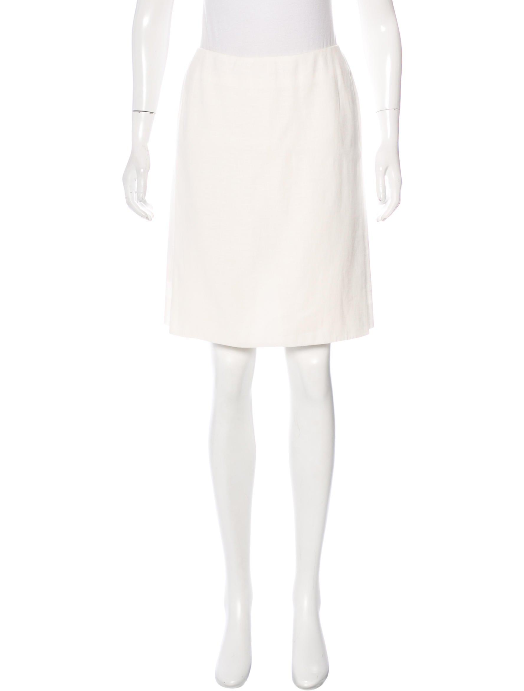 herm 232 s knee length linen skirt clothing her95467 the