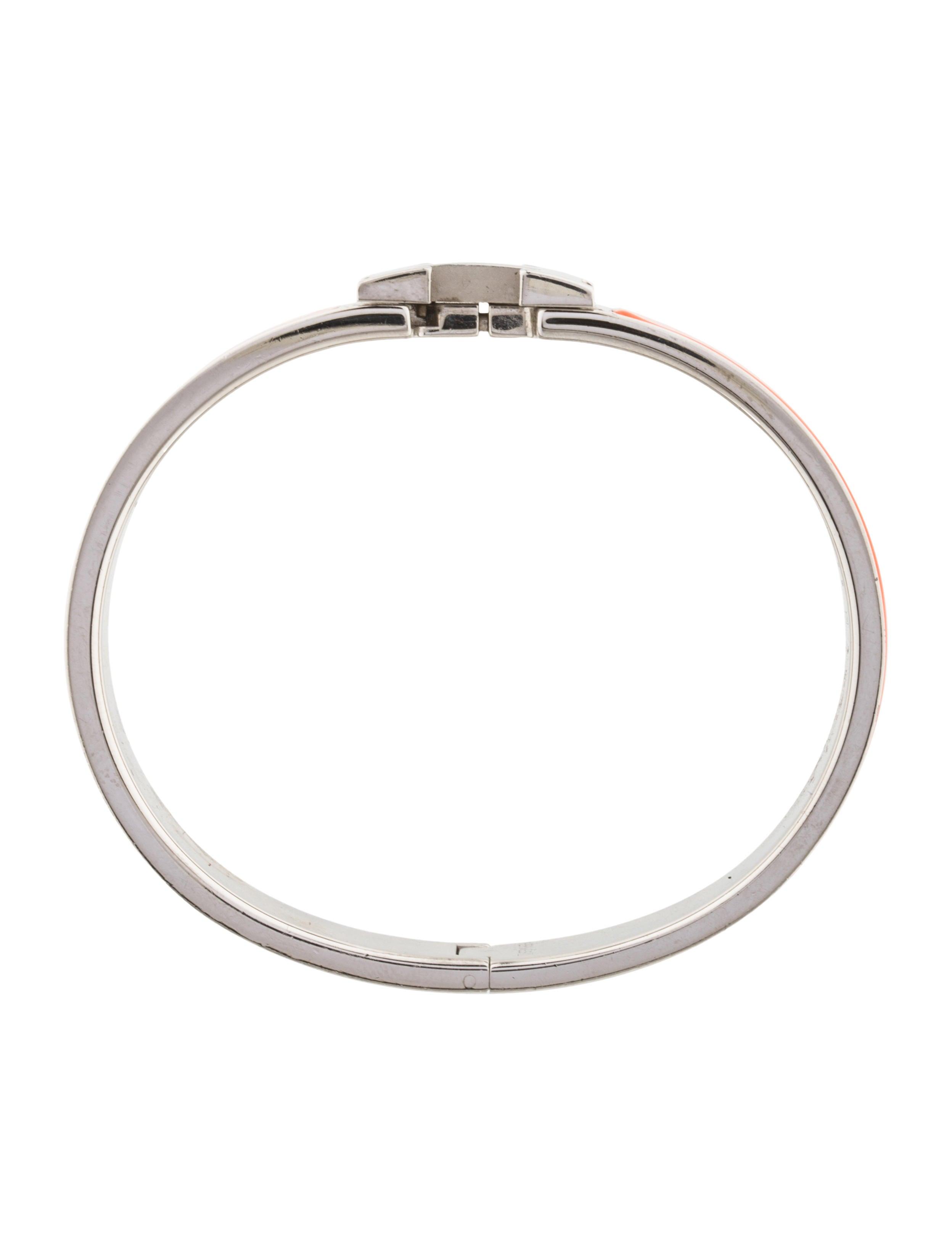 herm s narrow clic clac h bracelet bracelets her95544. Black Bedroom Furniture Sets. Home Design Ideas