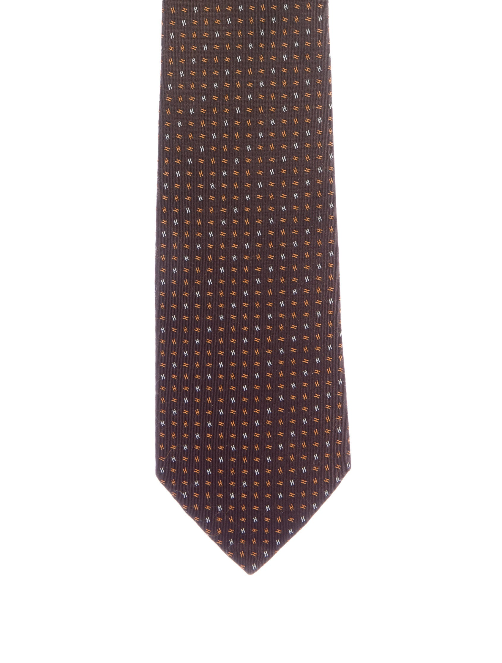 herm232s jacquard silk h tie suiting accessories